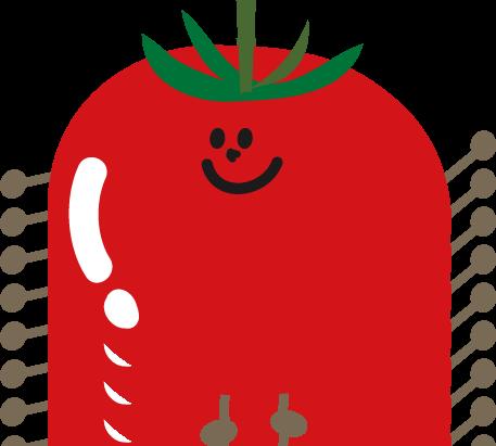 楽しい八月をご紹介♪ ~夏野菜の収穫と寒天遊び~